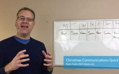 Quick Tip: 7 Day Communication Delivery Plan