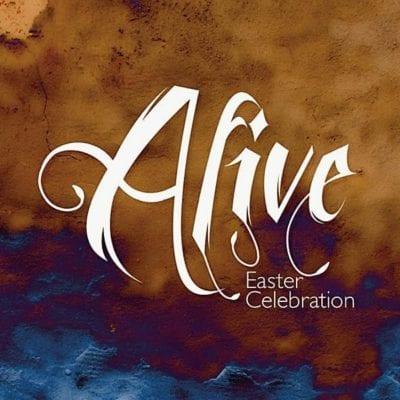 Easter Church Graphic Design Bundle, Alive, Easter Celebration, Easter Sunday, Alive