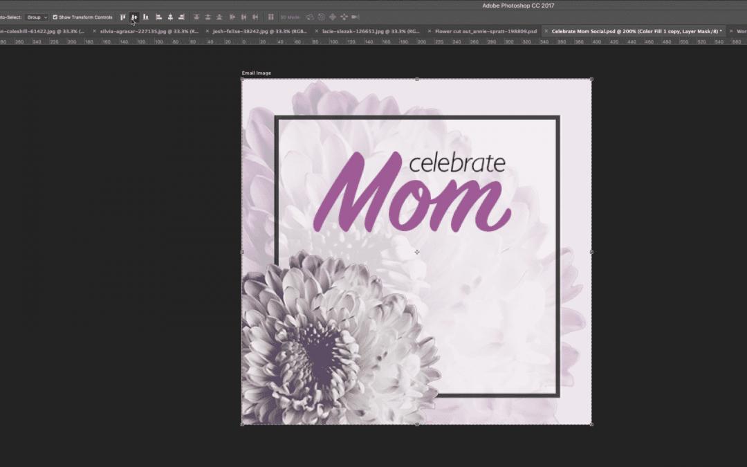 Celebrate Mom | Social Media and Worship Slides