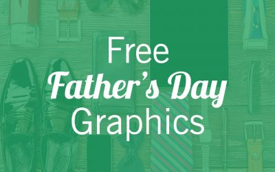 Father's Day Graphics | Social Media and Worship Slides